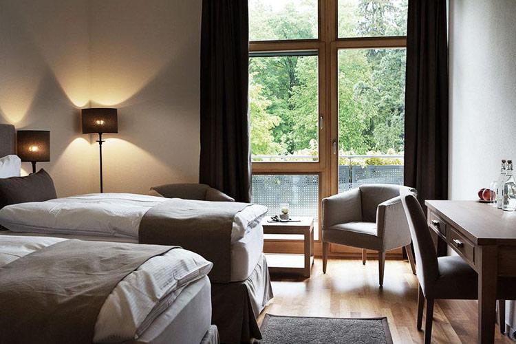 Double Room Twin North Wing - Schloss Hünigen - Konolfingen
