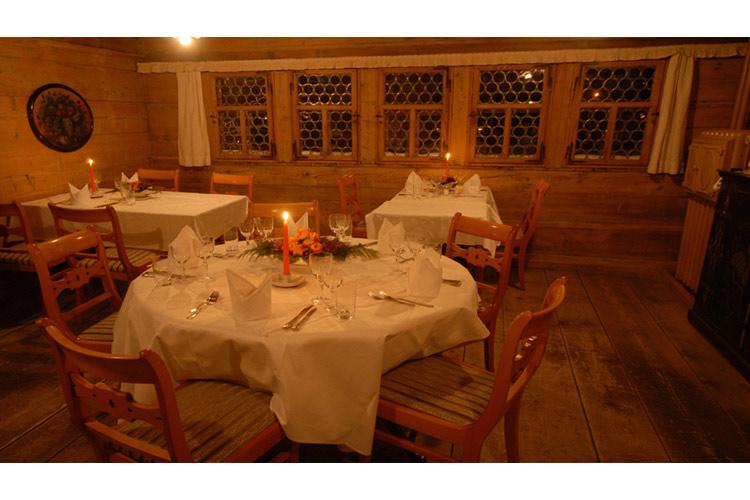 Restaurant - Landgasthof Ruedihus - Kandersteg