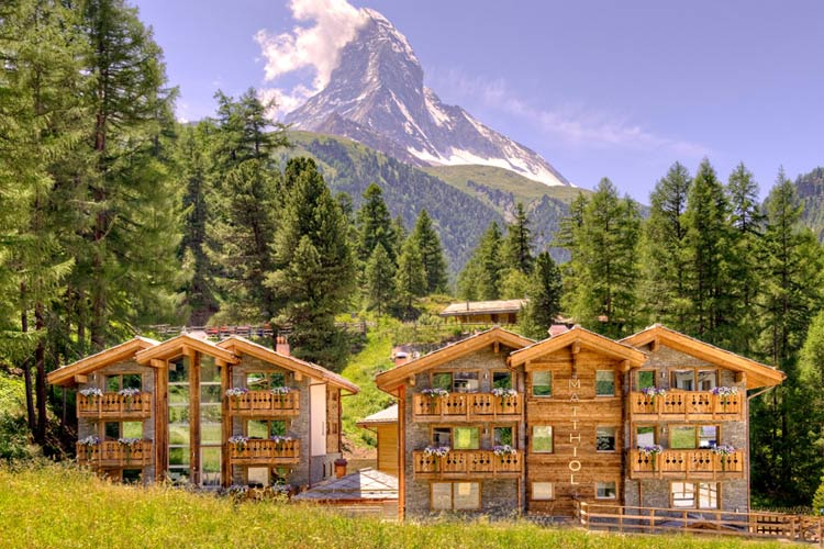 Hotel matthiol a boutique hotel in zermatt for Small great hotels
