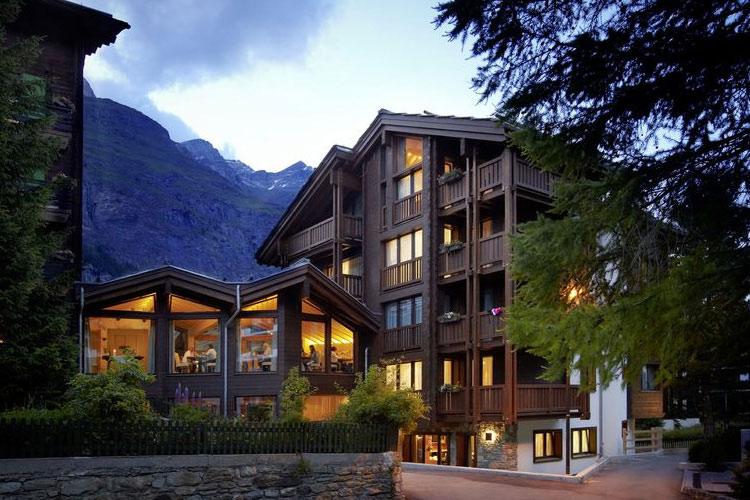 Facade - Europe Hotel & Spa - Zermatt