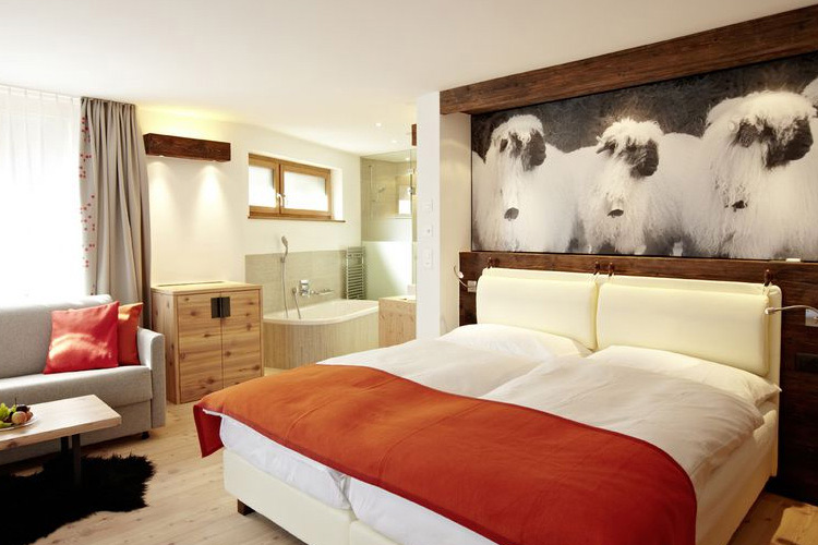 Room in the new Building - Europe Hotel & Spa - Zermatt