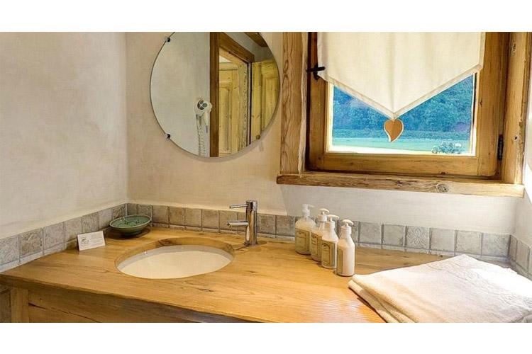 Bathroom - Les Fermes de Pierre et Anna - Le Grand Bornand
