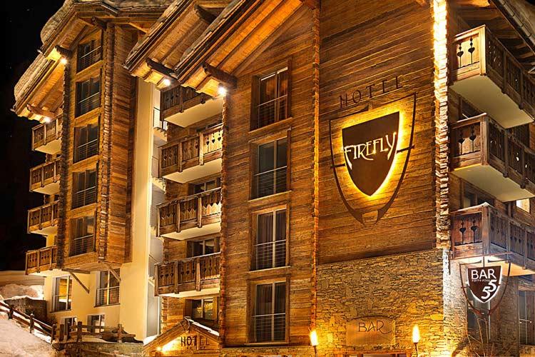 Facade - Firefly Hotel - Zermatt