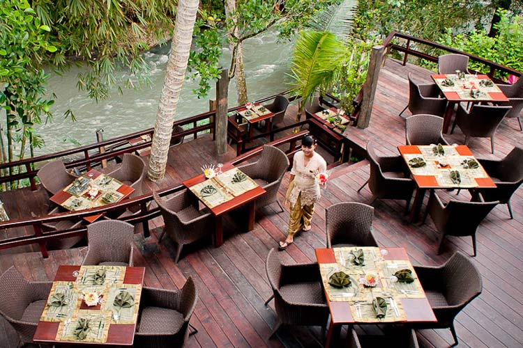 Dining Room Terrace - Fivelements Puri Ahimsa - Mambal