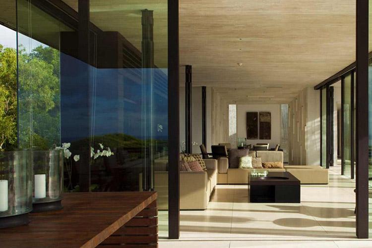 Three-Bedroom Pool Villa - Living Room (Hillside) - Alila Villas Uluwatu - Uluwatu