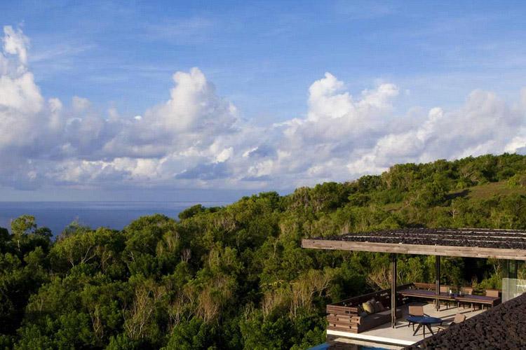 View from Three-Bedroom Pool Villa - Alila Villas Uluwatu - Uluwatu