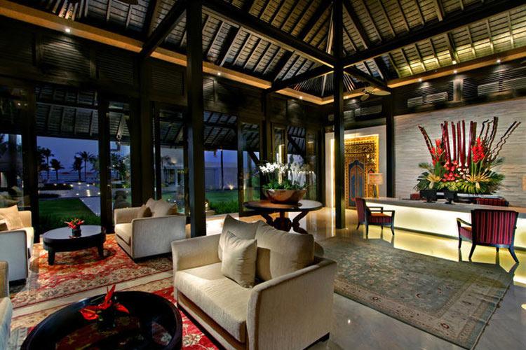 Lobby Reception - The Royal Santrian - Nusa Dua