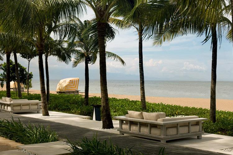 Terrace and Views - The Royal Santrian - Nusa Dua