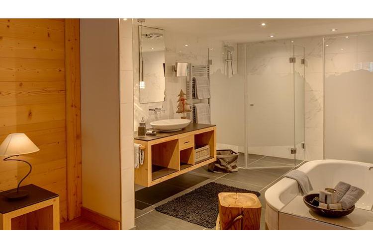 Bathroom - Matterhorn Lodge - Zermatt