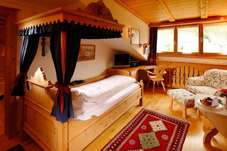 Single Room Superior - Schlosshotel Chastè - Tarasp