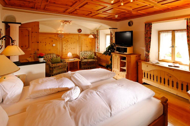 Double Room Superior - Schlosshotel Chastè - Tarasp