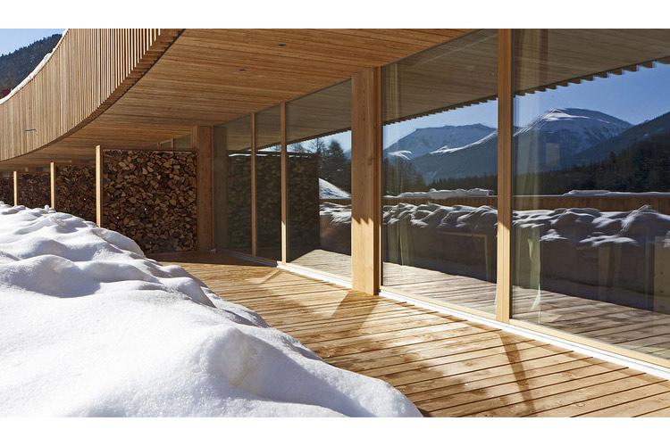 Exteriors - In Lain Hotel Cadonau - Brail