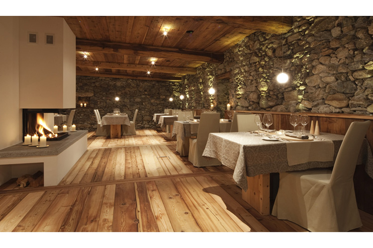 Restaurant - In Lain Hotel Cadonau - Brail