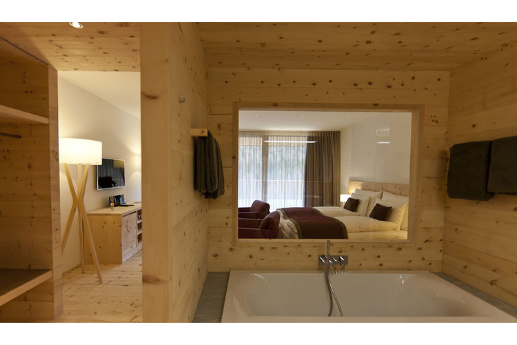 Terrace Junior Suite - In Lain Hotel Cadonau - Brail