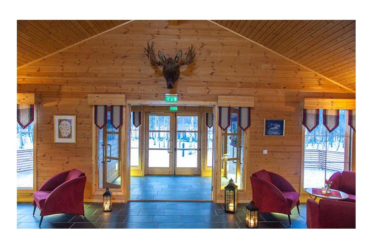 Entrance - Sorrisniva Igloo Hotel - Alta