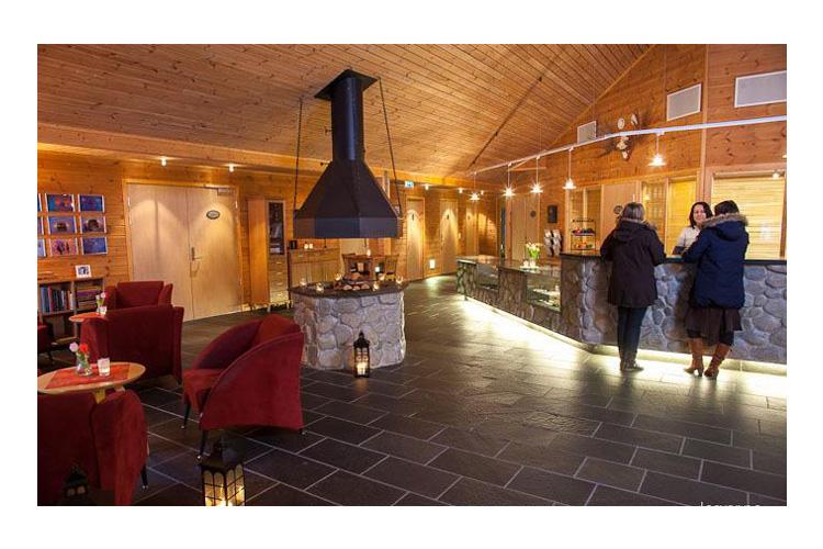 Reception - Sorrisniva Igloo Hotel - Alta