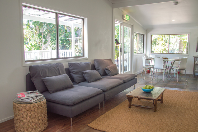 Common Areas - Byron Springs Guesthouse - Byron Bay