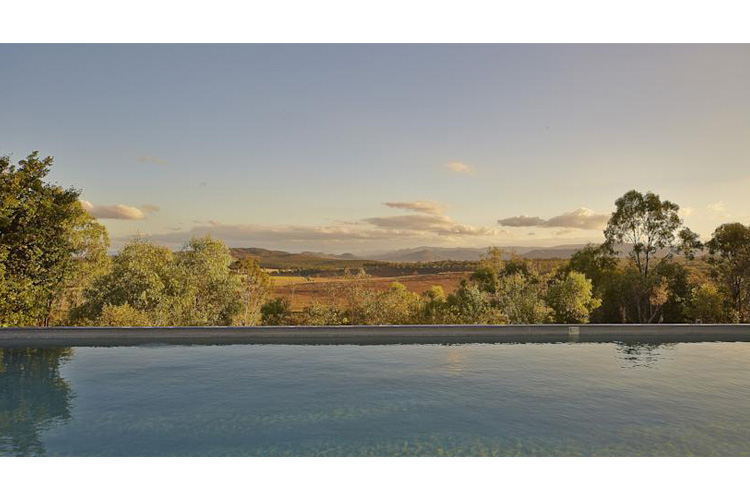 Swimming Pool View - Spicers Hidden Vale - Grandchester