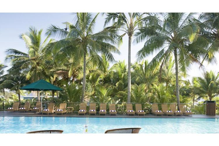 The  Pool - Palm Bungalows - Hamilton Island