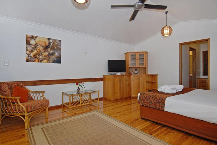 Interior of the Bungalows - Kewarra Beach Resort & Spa - Kewarra Beach