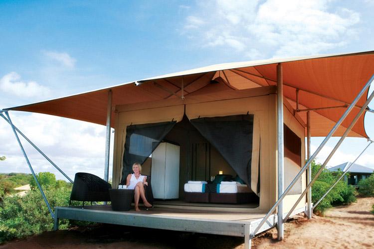 Eco Tent Garden View - Eco Beach Retreat - Broome