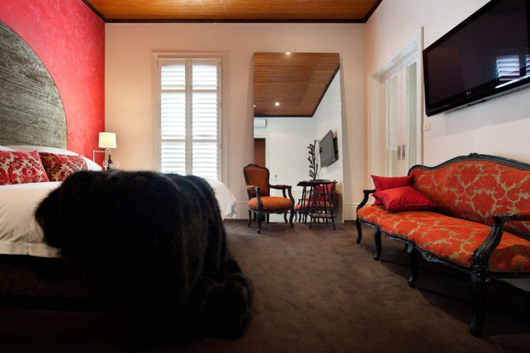 Rouge Room - Hotel Frangos - Daylesford