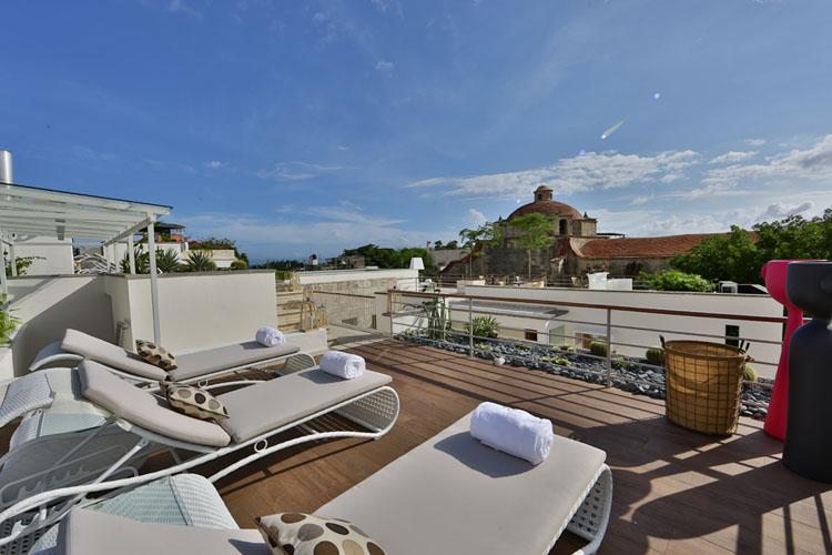 Rooftop Terrace - Billini Hotel - Santo Domingo