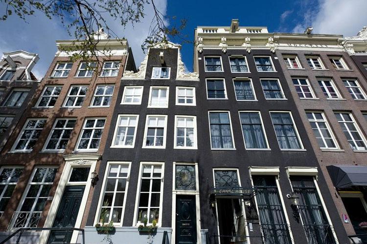 Facade - Canal House Hotel - Amsterdam
