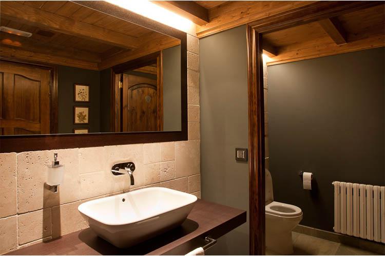 Double Standard Bathroom - Hotel de Tredòs - Tredòs