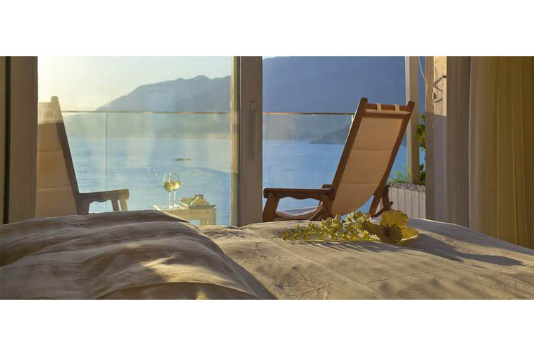 Sea View Room (Aquamarine terrace) - Peninsula Gardens Hotel - Kas