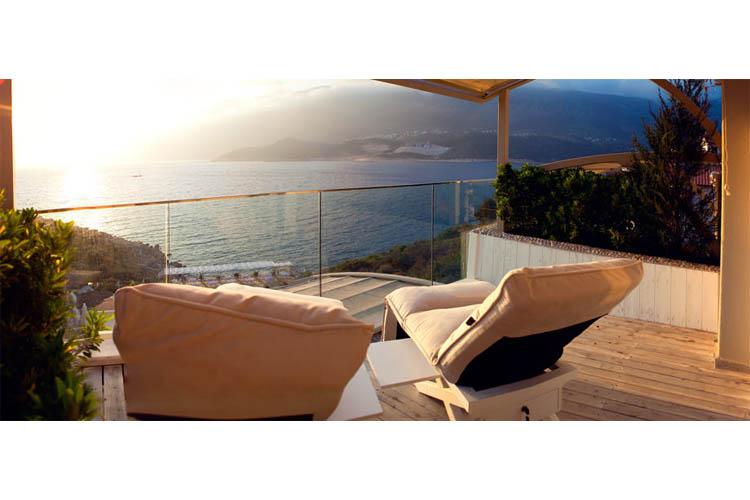 Sea View Room (Lapis terrace) - Peninsula Gardens Hotel - Kas