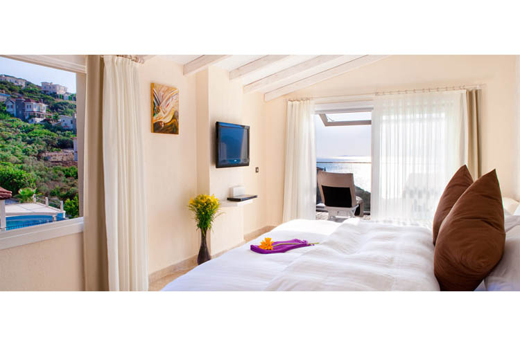 Sea View Room (Onyx) - Peninsula Gardens Hotel - Kas