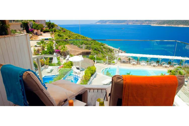 Superior Room (Emerald terrace) - Peninsula Gardens Hotel - Kas