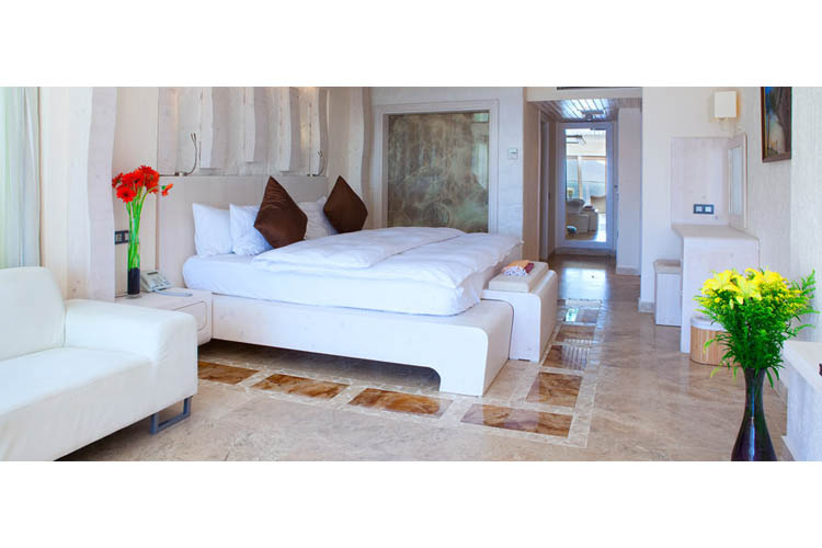Deluxe Room (Topaz) - Peninsula Gardens Hotel - Kas