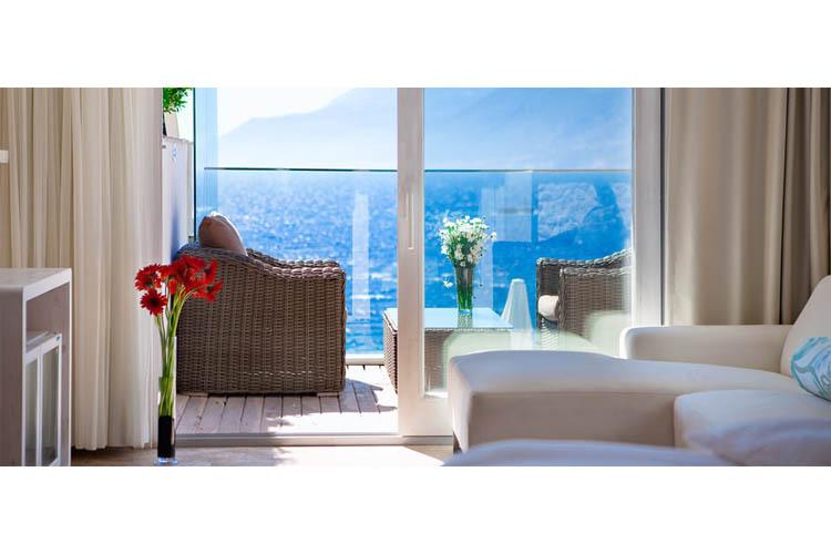 Deluxe Room (Terrace) - Peninsula Gardens Hotel - Kas