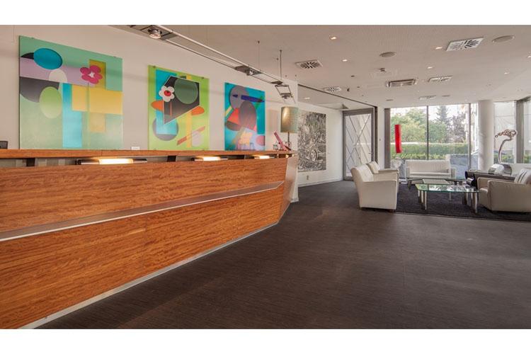 Reception - Augartenhotel - Graz