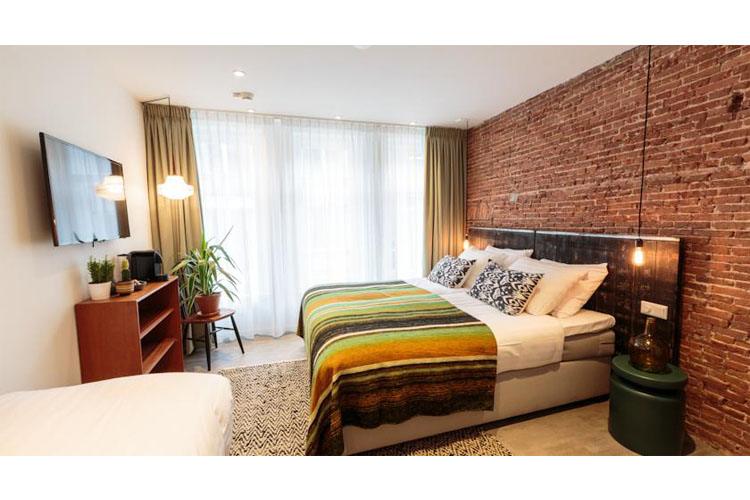 Double Room - Hotel Dwars - Amsterdam