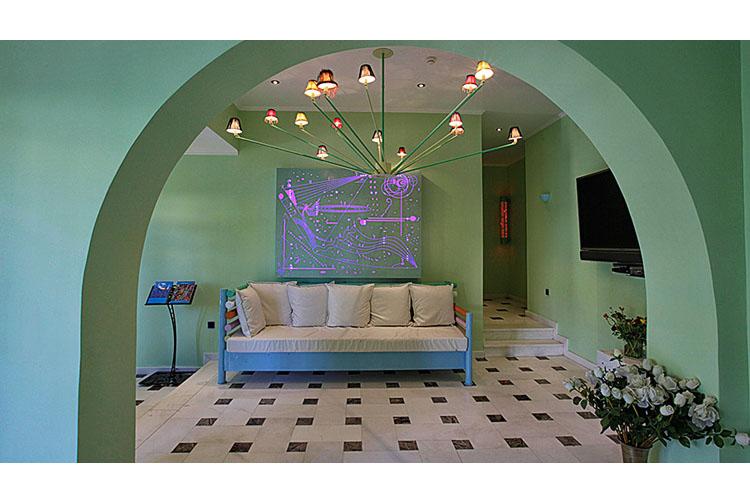 Reception - Agalia Luxury Suites - Tzamaria