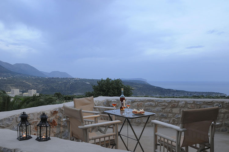 Superior Double Room Terrace - Antares Hotel Mani - Areopoli