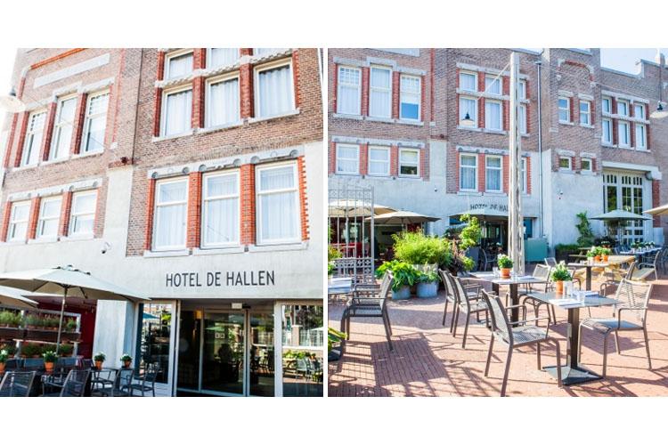 Facade - Hotel de Hallen - Amsterdam