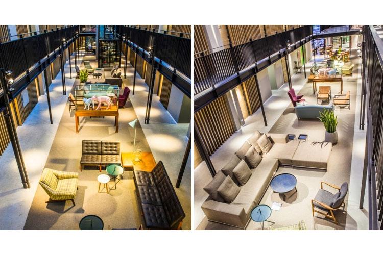Lobby - Hotel de Hallen - Amsterdam