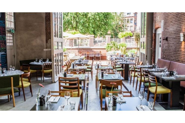 Restaurant - Hotel de Hallen - Amsterdam
