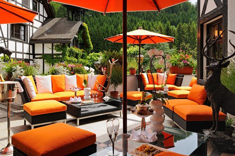 Terrace - Jagdhof Glashütte - Bad Laasphe