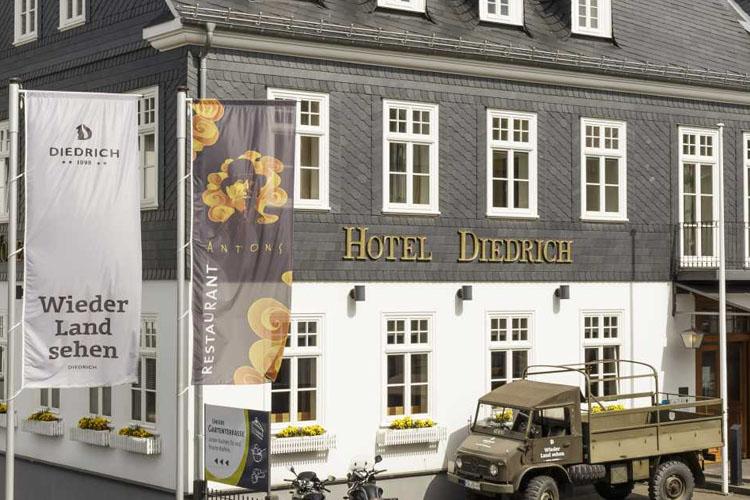 Facade - Hotel Diedrich - Hallenberg