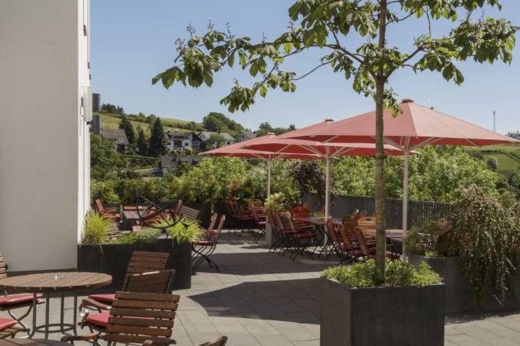 Terrace - Hotel Diedrich - Hallenberg