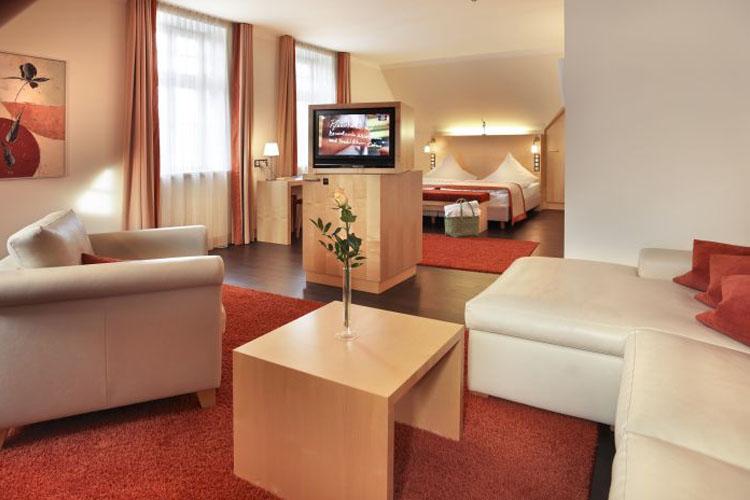 Bollerberg Juniorsuite Giebelseite - Hotel Diedrich - Hallenberg