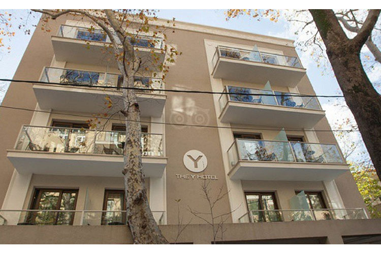 Facade - The Y Hotel - Atenas