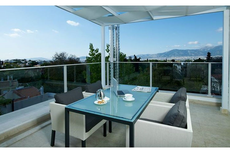 Terrace - The Y Hotel - Atenas