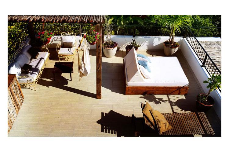 Terrace - Hotel la Semilla - Playa del Carmen