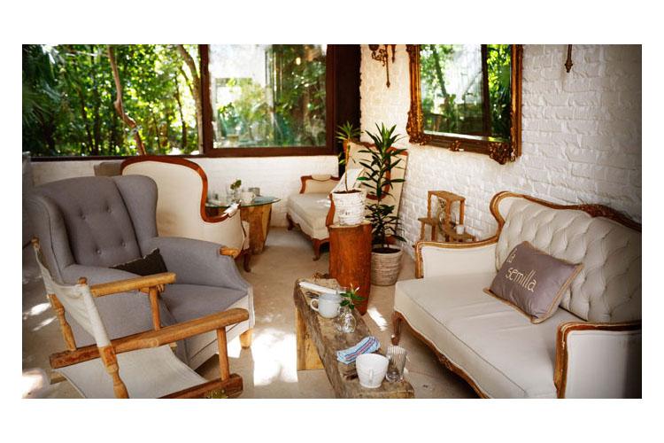 Lounge - Hotel la Semilla - Playa del Carmen